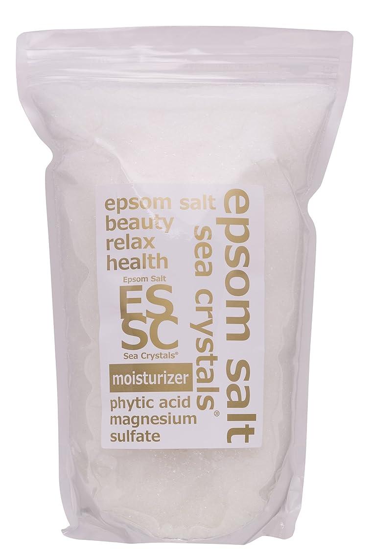 立証する知り合いスーパーエプソムソルト モイスチャライザー 2.2kg 入浴剤 (浴用化粧品)フィチン酸配合 シークリスタルス 計量スプーン付