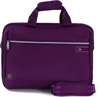 "Cloe- Maletin Porta Laptop 15"" Color Morado En Material"
