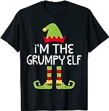 I'm The Grumpy Elf T-Shirt Matching Christmas Costume Shirt T-Shirt