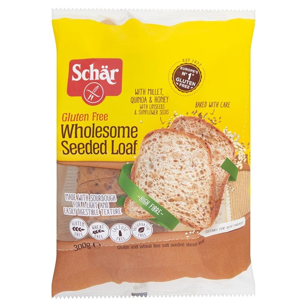 広い検索エンジンマーケティング欲求不満穀物グルテンフリー300グラムとシェアー穀物マスターベイカーパン
