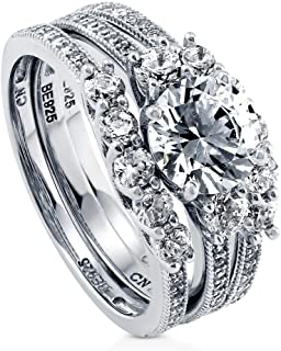 Best 3 ring wedding ring sets Reviews
