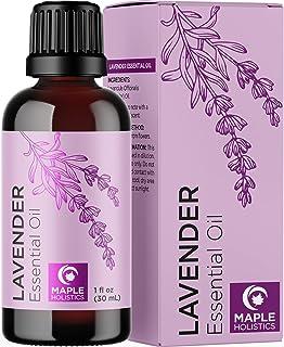 Pure Lavender Oil Essential Oil - Premium Therapeutic Grade Lavender Essential Oils for Diffuser Plus Healthy Hair Skin an...