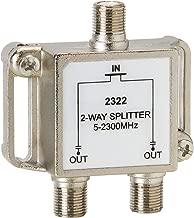 Parts Express 2-Way CATV 5-2300 Mhz Signal Solder Back Splitter Combiner