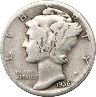 1936 s mercury dime