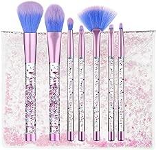 liquid glitter makeup brushes