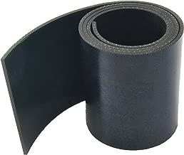 Gummistreifen St/ärke 3 mm in verschiedenen Gr/ö/ßen w/ählbar Gummi-Matte-Platte Vollgummi Sch/ürfleiste Hartgummi
