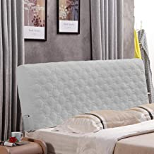 Bed Headboard Cover Queen Size Headboard Slipcover Protector with Stretch Dustproof Cotton Cover for for Twin Full King He...