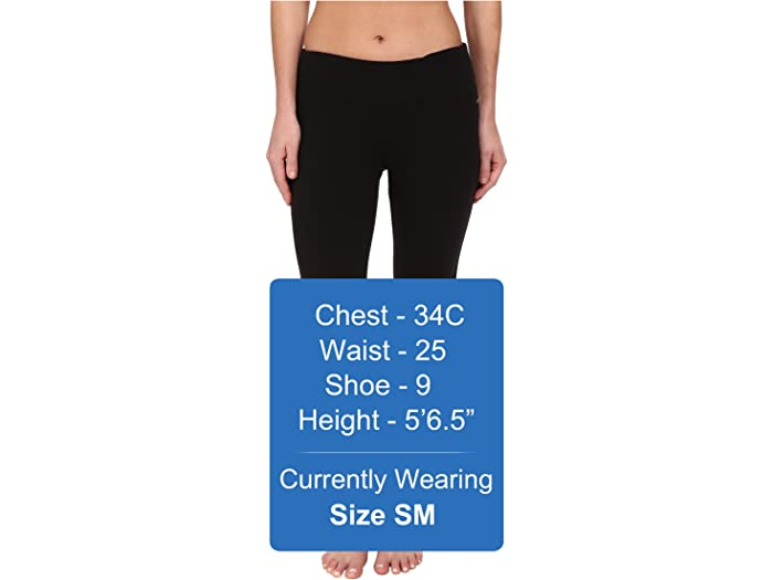 Jockey Active Slim Capri Flare Black Pants