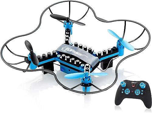 minoristas en línea SQSAY Top Race DIY Drone Building Blocks 2.4GHz Control Control Control Remoto Drone, constrúyalo y vuele, 54 Piezas (TR-D5) para Mayores de 14 años  alta calidad general