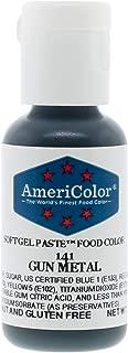 Food Coloring AmeriColor Gunmetal Soft Gel Paste .75 Ounce