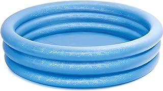 Intex Crystal Blue Pool - Kinder Aufstellpool - Planschbecken - Durchmesser 168 cm x 38 cm - Für 2 Jahre
