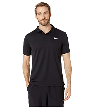 Nike NikeCourt Dry Polo Team (Black/Black/Black) Men