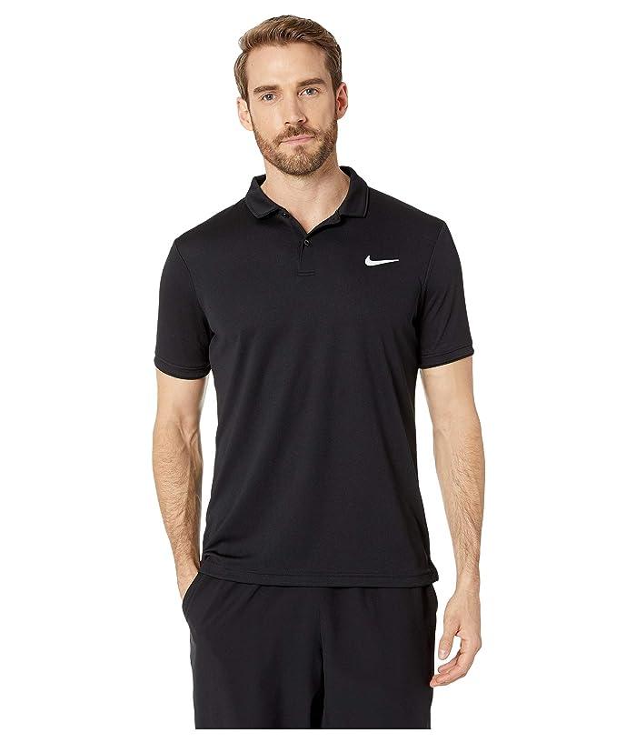 Nike NikeCourt Dry Polo Team (Black/Black/Black) Men