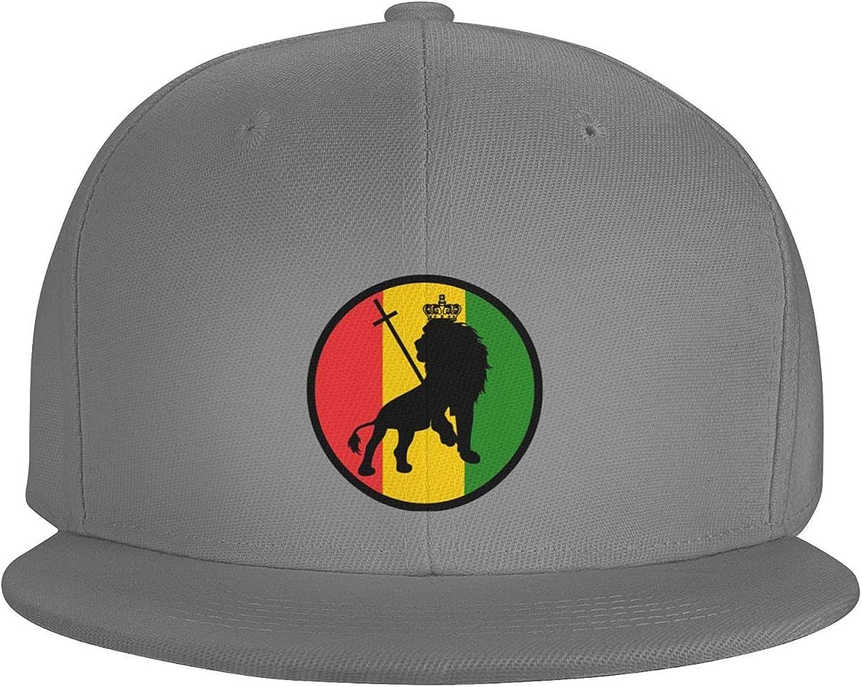 Rock and Roll American Flag Flat Brim Baseball Hat Cowboy Hat Sun Hat Unisex