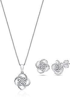 Best diamond heart jewelry sets Reviews
