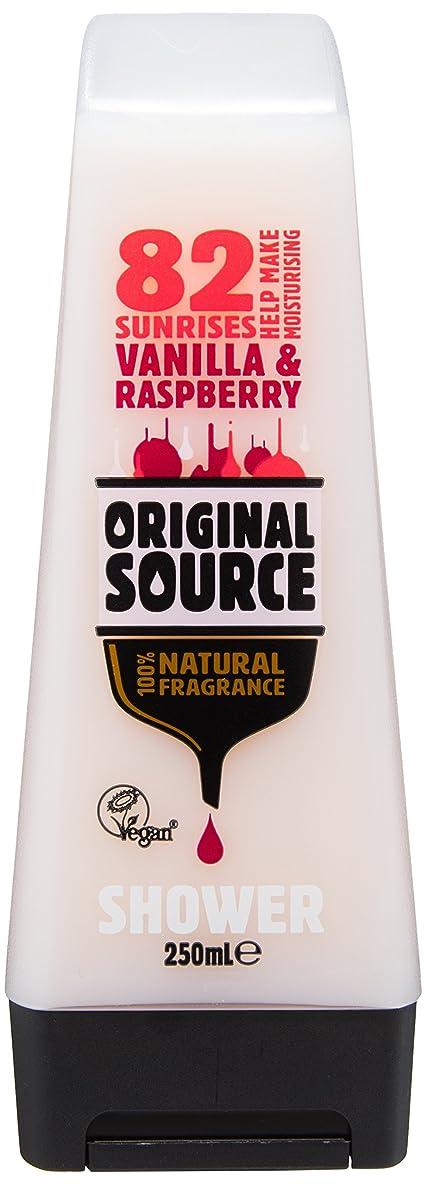 引き付ける変装した前売Cussons Vanilla Milk and Raspberry Original Source Shower Gel by Cussons