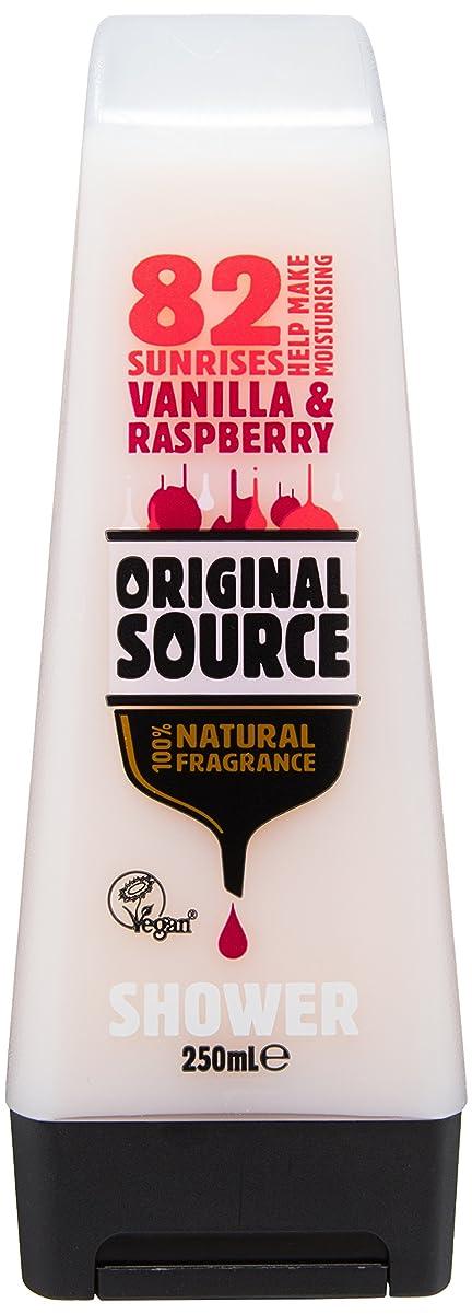 彼らのかもめ司教Cussons Vanilla Milk and Raspberry Original Source Shower Gel by Cussons