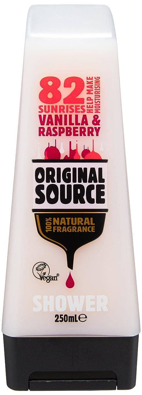 グループ執着機関Cussons Vanilla Milk and Raspberry Original Source Shower Gel by Cussons