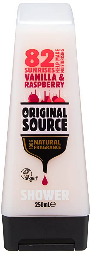 領収書意義どこにもCussons Vanilla Milk and Raspberry Original Source Shower Gel by Cussons