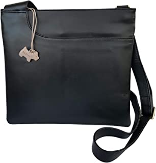 08c70ddfb061a RADLEY 'Pocket Bag' Black Leather Large Across Body Bag - RRP £129.00
