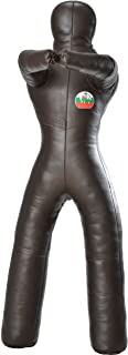Suples Wrestling Dummy with Legs - Genuine Leather Dummy - Throwing Dummy - Freestyle - Dummy (MMA, Wrestling, Boxing, Jiu Jitsu, Grappling Dummy, UFC, Judo Dummy, Combat Sports, Kickboxing)