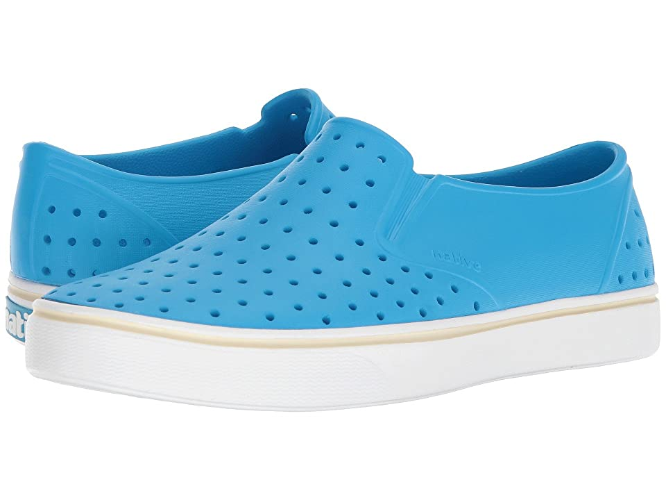 Native Shoes Miles (Wave Blue/Shell White) Athletic Shoes