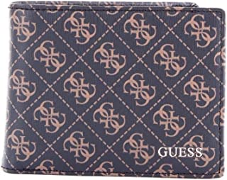 Luxury Fashion | Guess Mens SM2639LEA27BROWN Brown Wallet | Fall Winter 19