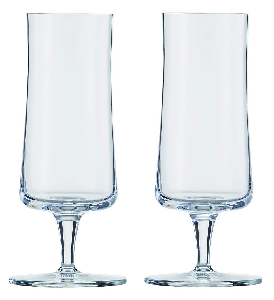 デイジー自動的に旋回ショット?ツヴィーゼル ビールグラス クリア 283ml BEER BASIC ピルスナーXS P120051 2個入