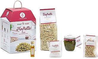 TROFIETTE AL PESTO GENOVESE My Cooking Box x5 porzioni - Cesto Idea Regalo Natale