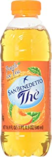 San Benedetto Iced Tea, Peach, 12 Count