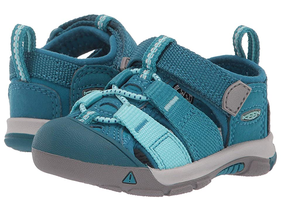 Keen Kids Newport H2 (Toddler) (Deep Lagoon/Tahitian Tide) Kids Shoes