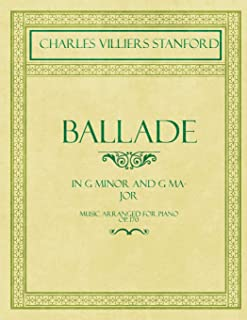 Ballade - In G Minor and G Major - Sheet Music for Piano - Op.170