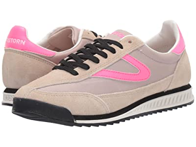 Tretorn Rawlins 2 (Cream/Stone/Neon Pink/Neon Pink) Women