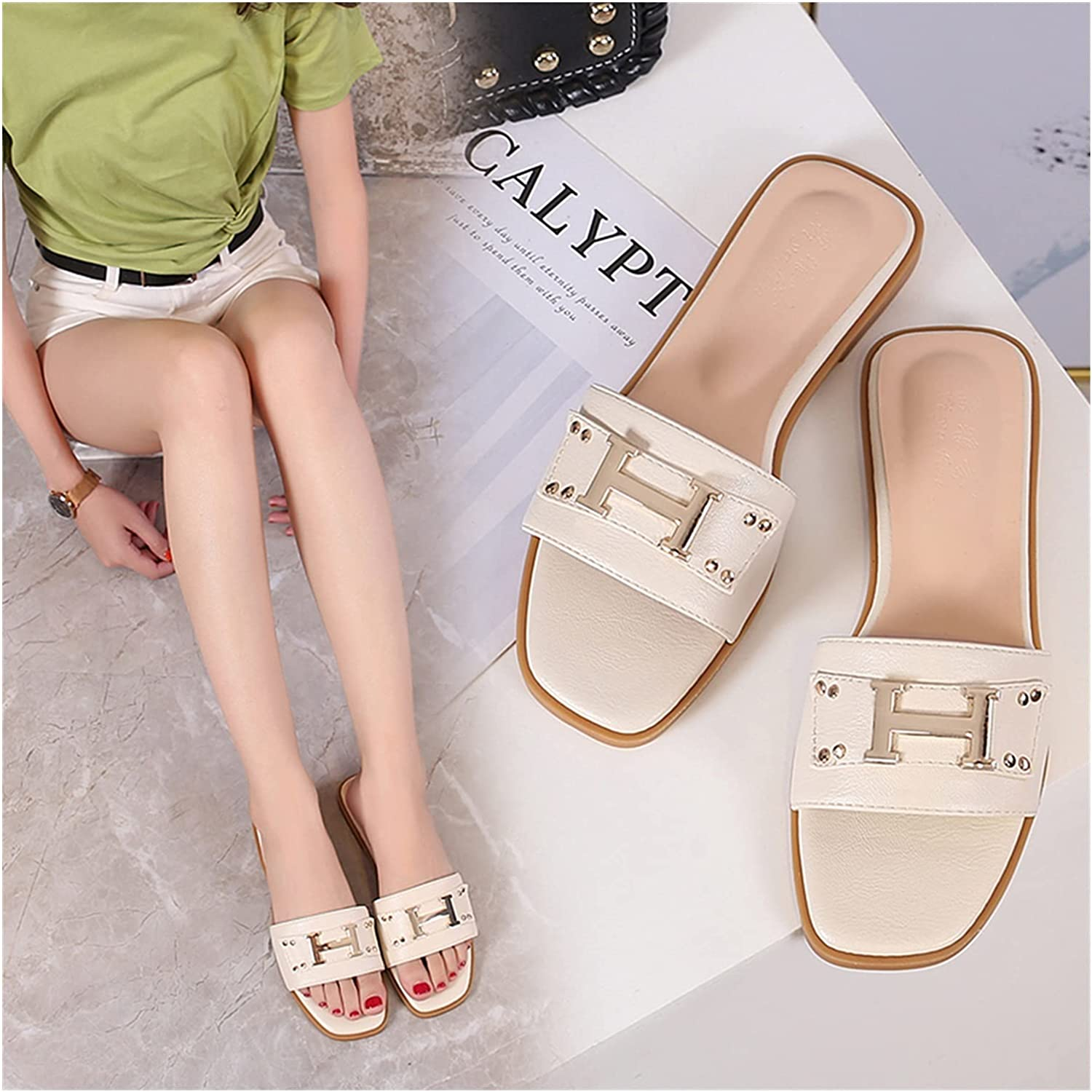 QUNHU Sandals for gift Women Flat with Women's Support Arch Shoes service
