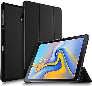 Luibor Estuche Tableta Samsung Galaxy Tab A 10.5 2018 SM-T590/SM-T595 - Estuche Cubierta Elegante Delgado Estuche de Piel Ultra Ligero Tableta Samsung Galaxy Tab A 10.5 2018 SM-T590/SM-T595(Negro)