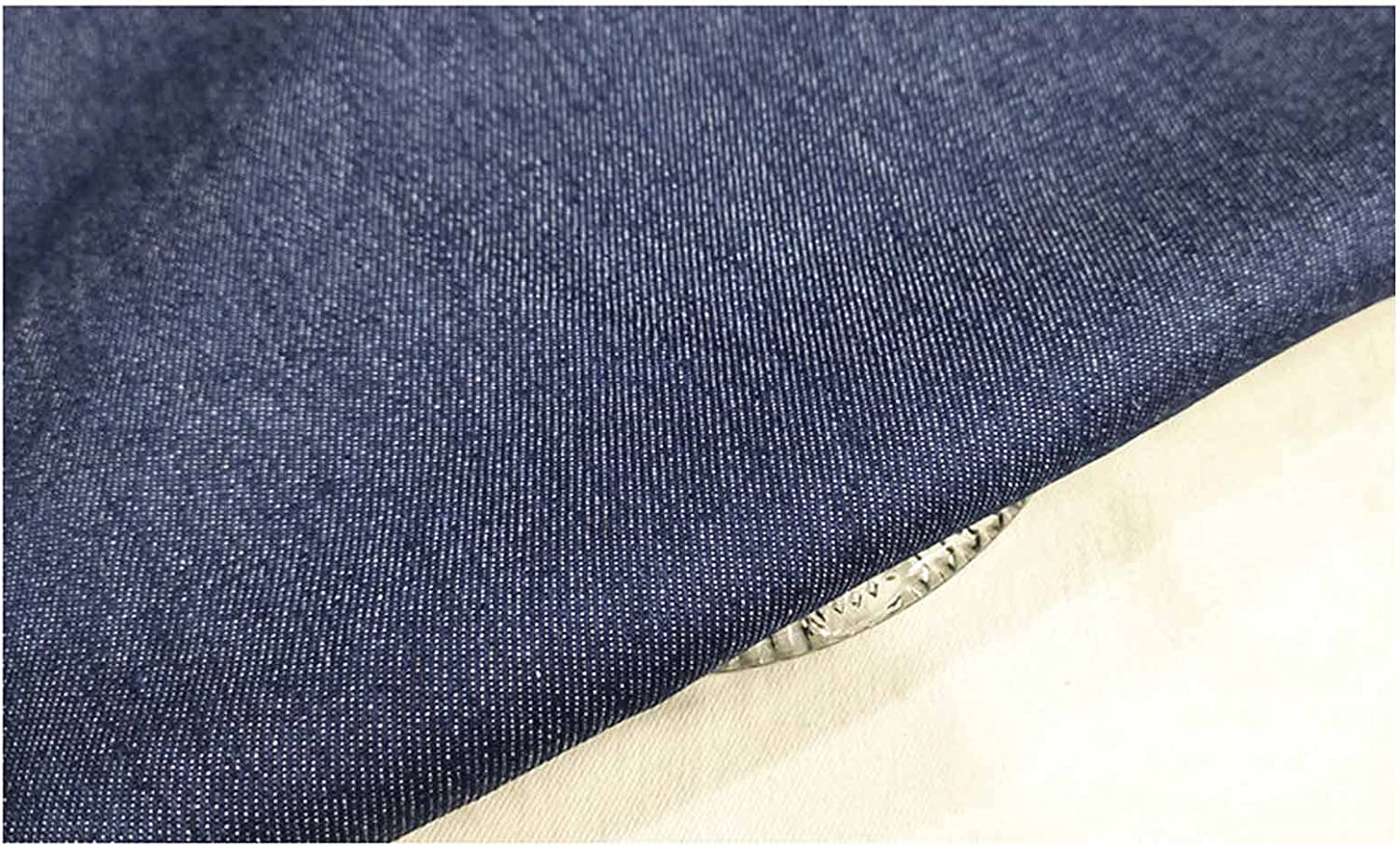 GLUDGOAT Washed Denim Fabric Thick Discount is also Popular standard underway T-Shirt Dress Materi for Soft
