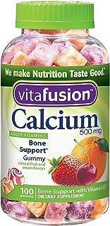 Vitafusion Calcium Adult Gummy Vitamins, 100 Gummy Vitamins