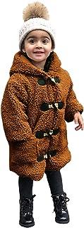 Sunnymi - Abrigo con capucha para niños de 1 a 6 años, resistente al viento, para invierno