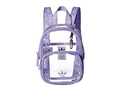 adidas Originals Originals Clear Mini Backpack (Glow Purple) Backpack Bags