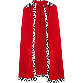 Kings Robes Crown Set Adults Royal Fancy Dress Sports Relief 2012 British Outfit