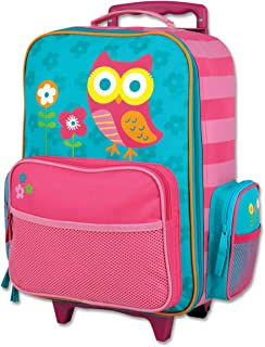 Stephen Joseph Girls' Little Classic Rolling Luggage, Owl, One Size