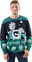 Ripple Junction Rick and Morty Alien Aww Geez Rick Christmas Sweater