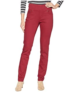 Nora Skinny Pull-On Knit Denim Jeans