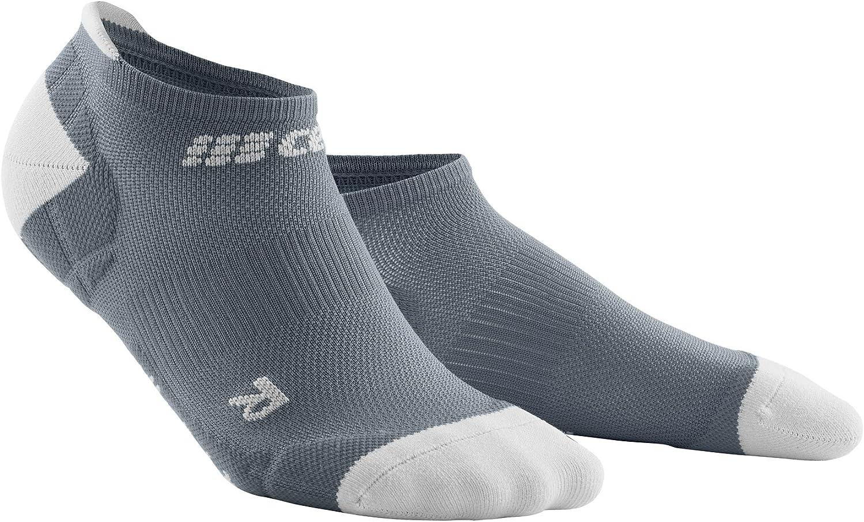 CEP Men's No Show Compression Ultralight Running Socks