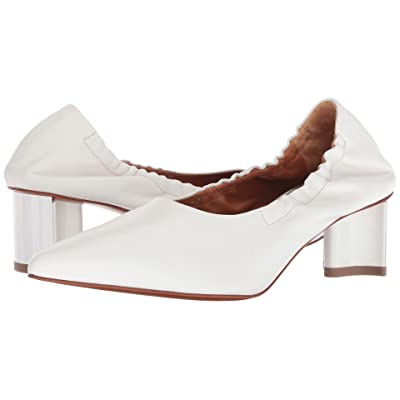 Clergerie Solal1 (White Nappa) High Heels