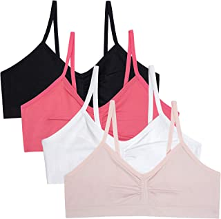 Simply Adorable Girls Seamless Training Bras Pack of 4