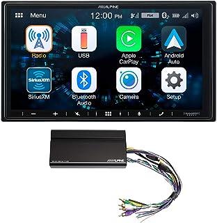 """ALPINE iLX-W650 7"""" Digital Media Bluetooth Carplay Receiver+KTA-450 Power Pack photo"""