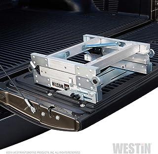 Westin 10-3000 Truck-Pal Tailgate Ladder,Silver