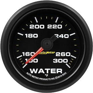 AutoMeter 9255 Gauge, Water Temp, 2 1/16', 300ºf, Stepper Motor W/Pk & Wrn, Extreme Environment