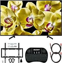Sony XBR-75X800G 75-inch 4K Ultra HD LED TV (2019) Bundle with Deco Mount Slim Flat Wall Mount Ultimate Bundle, Deco Gear Wireless Keyboard and 2X Deco Gear 6ft HDMI Cable